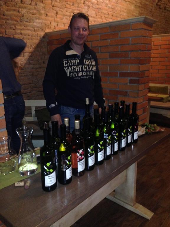 Degustácia vinárstva Branislav Pútec