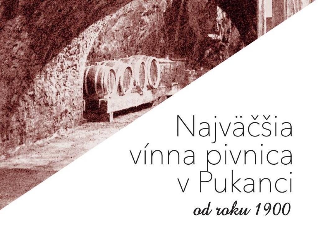 Najväčšia vínna pivnica v Pukanci